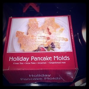 🆕️Holiday Pancake Molds